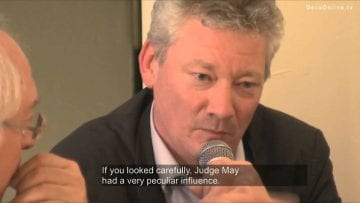 16. Introducing The Milosevic Trial with director Jos de Putter
