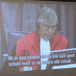 18 B: Owen questioned about Milosevic by the tribunal in the Hague