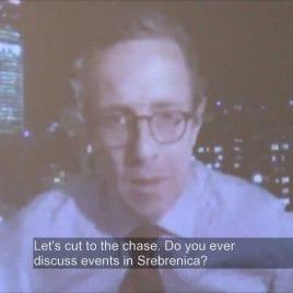 9. Reporter in Srebrenica, 10 years later