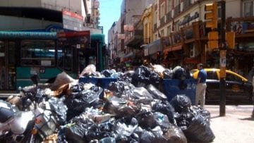 Buenos Aires – garbage recyclers