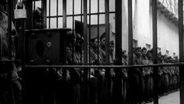Inmate in Lecumberri prison, Mexico