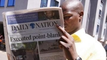 Kenyas most popular newspaper – The Daily Nation