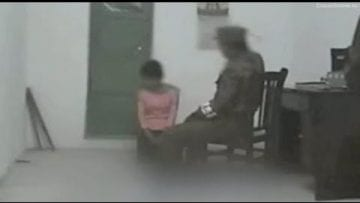 North Korea – Woman abused by official