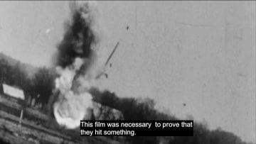 Raw Footage of Spitfire Attack on German Supply Line