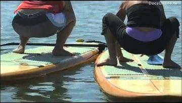 Surfboard Yoga California