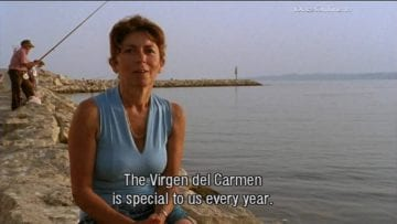 The virgin Carmen, patron saint of the sea