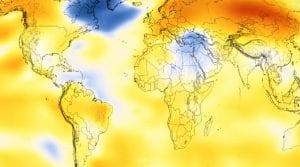 Global warming timeline