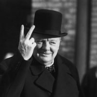 Inspirational Quote Churchill
