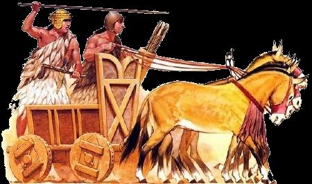 Sumarian war chariots