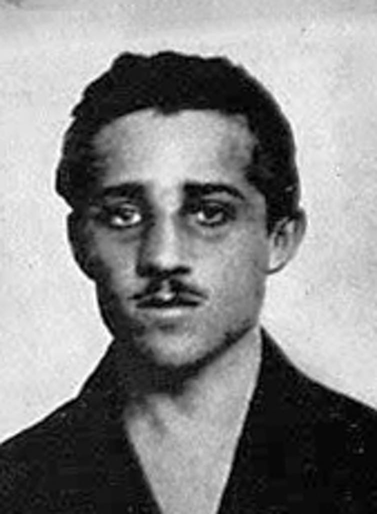 Gavrilo Princip Shot Franz Ferdinand which caused WWi
