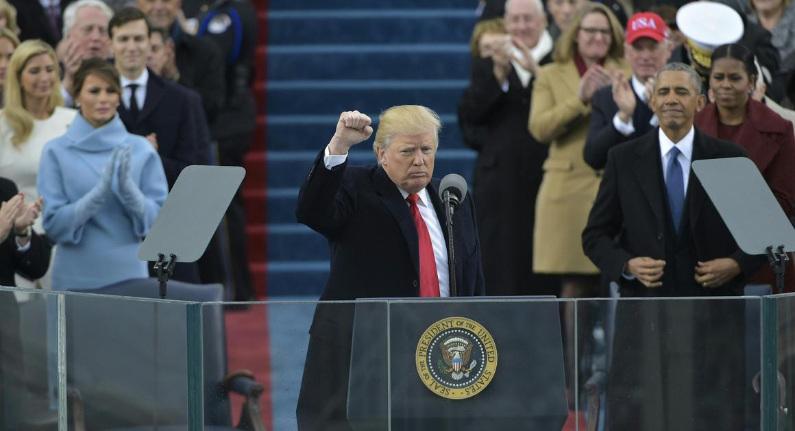 Trump's inauguration speech